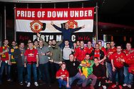 PERTH, AUSTRALIA - JULY 13: Perth Manchester United supporters club during the International soccer match between Manchester United and Perth Glory on July 13, 2019 at Optus Stadium in Perth, Australia. (Photo by Speed Media/Icon Sportswire)
