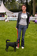 Sophia Beddows. Macmillan Dog Day in aid of Macmillan Cancer Relief. Royal Hospital Chelsea, 5 July 2005. ONE TIME USE ONLY - DO NOT ARCHIVE  © Copyright Photograph by Dafydd Jones 66 Stockwell Park Rd. London SW9 0DA Tel 020 7733 0108 www.dafjones.com