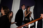 Arabella Musgrave, hon James Tollemache and Marina Hambro, Hot Ice party hosted by Dominique Heriard Dubreuil and Theo Fennell, ( Remy Martin and theo Fennell) at 35 Belgrave Sq. London W1. 26 October 2004. ONE TIME USE ONLY - DO NOT ARCHIVE  © Copyright Photograph by Dafydd Jones 66 Stockwell Park Rd. London SW9 0DA Tel 020 7733 0108 www.dafjones.com