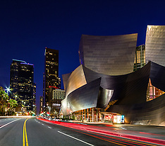 Los Angeles Landmarks Stock Photos Royalty Free