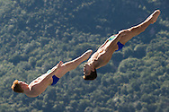 Team GREAT BRITAIN - HEATLY James HASLAM Ross <br /> Bolzano, Italy <br /> 22nd FINA Diving Grand Prix 2016 Trofeo Unipol<br /> Diving<br /> Men's 3m synchronised springboard final<br /> Day 03 17-07-2016<br /> Photo Giorgio Perottino/Deepbluemedia/Insidefoto