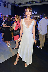 BETTY BACHZ at the Maserati Levante VIP Launch party held at the Royal Horticultural Halls, Vincent Square, London on 26th May 2016.