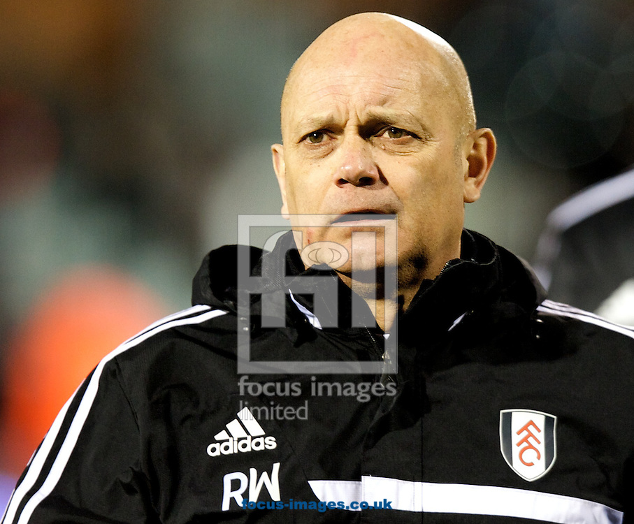 Picture by Alan Stanford/Focus Images Ltd +44 7915 056117<br /> 04/02/2014<br /> Assistant head coach Ray Wilkins of Fulham before the The FA Cup match at Craven Cottage, London