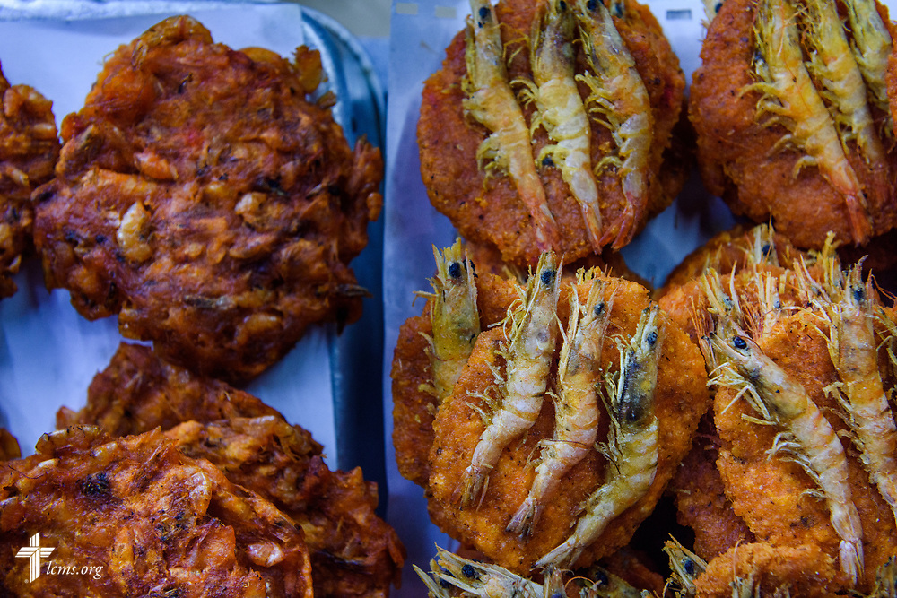 Street food for sale on the promenade at Galle Face Green on Thursday, Jan. 18, 2018, in Colombo, Sri Lanka. LCMS Communications/ Erik M. Lunsford