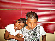 Panamanian Children from low income and marginal neighborhoods, part of a social project created by photographer Kike Calvo,  which uses photography as a tool.