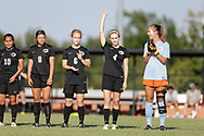 August 31, 2017: The East Central University Tigers play the Oklahoma Christian University Eagles on the campus of Oklahoma Christian University