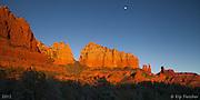 La Luna De Sedona. Sedona, Arizona - 1/5/2012.
