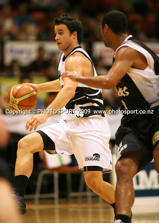 . Hawkes Bay Hawks v Christchurch Cougars. National Basketball League. Pettigrew Green Arena, Napier, New Zealand. Friday 23 April 2010. Photo: John Cowpland/PHOTOSPORT