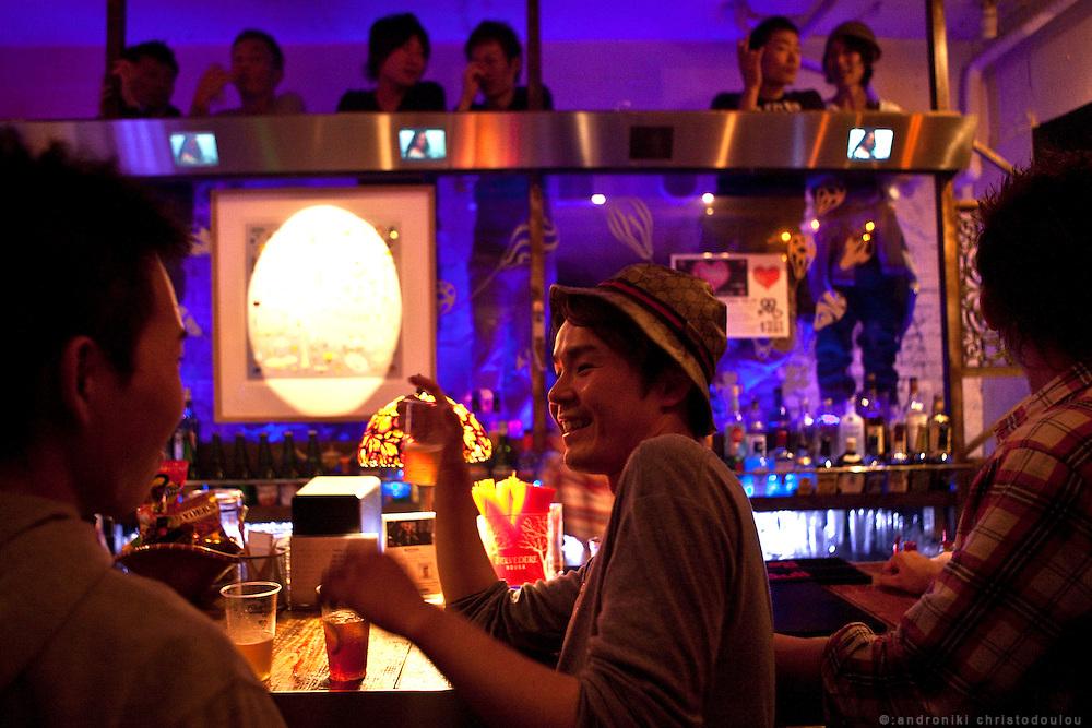 Club Annex is very popular among Japanese gay men. Bar