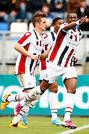Onderwerp/Subject: Willem II - Eredivisie<br /> Reklame:  <br /> Club/Team/Country: <br /> Seizoen/Season: 2012/2013<br /> FOTO/PHOTO: Virgil MISIDJAN of Willem II celebrating his goal ( 1 - 0 ). (Photo by PICS UNITED)<br /> <br /> Trefwoorden/Keywords: <br /> #02 $94 &plusmn;1355244121349<br /> Photo- &amp; Copyrights &copy; PICS UNITED <br /> P.O. Box 7164 - 5605 BE  EINDHOVEN (THE NETHERLANDS) <br /> Phone +31 (0)40 296 28 00 <br /> Fax +31 (0) 40 248 47 43 <br /> http://www.pics-united.com <br /> e-mail : sales@pics-united.com (If you would like to raise any issues regarding any aspects of products / service of PICS UNITED) or <br /> e-mail : sales@pics-united.com   <br /> <br /> ATTENTIE: <br /> Publicatie ook bij aanbieding door derden is slechts toegestaan na verkregen toestemming van Pics United. <br /> VOLLEDIGE NAAMSVERMELDING IS VERPLICHT! (&copy; PICS UNITED/Naam Fotograaf, zie veld 4 van de bestandsinfo 'credits') <br /> ATTENTION:  <br /> &copy; Pics United. Reproduction/publication of this photo by any parties is only permitted after authorisation is sought and obtained from  PICS UNITED- THE NETHERLANDS