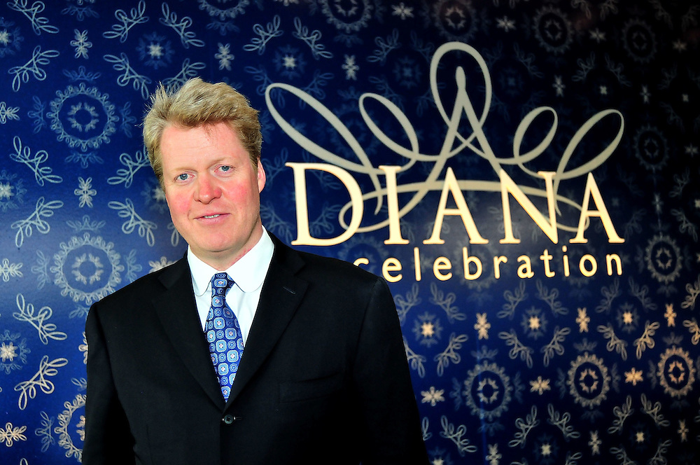 "PHILADELPHIA - OCTOBER 01:  Charles Spencer, Princess Diana's brother, attends a reception to celebrate ""Diana: A Celebration"" exhibit at the National Constitution Center on October 1, 2009 in Philadelphia, Pennsylvania.  (Photo by Lisa Lake/Getty Images)"
