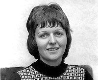 Ruth Patterson, Larne, N Ireland, UK, who is studying for the Presbyterian Ministry, October, 1975. The following year she became the first woman to be ordained into the Presbyterian Church in Ireland. 197510050682a<br /> <br /> Copyright Image from Victor Patterson, 54 Dorchester Park, Belfast, UK, BT9 6RJ<br /> <br /> Tel: +44 28 9066 1296<br /> Mob: +44 7802 353836<br /> Voicemail +44 20 8816 7153<br /> Skype: victorpattersonbelfast<br /> Email: victor@victorpatterson.com<br /> Email: victorpatterson@me.com (back-up)<br /> <br /> IMPORTANT: If you wish to use this image or any other of my images please go to www.victorpatterson.com and click on the Terms & Conditions. Then contact me by email or phone with the reference number(s) of the image(s) concerned.