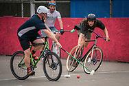 Bike Polo in Grand Rapids, Michigan.