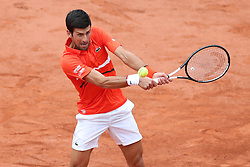 May 30, 2019 - Paris, France - Novak Djokovic (SRB) during the French Open Tennis at Stade Roland-Garros, Paris on Thursday 30th May 2019. (Credit Image: © Mi News/NurPhoto via ZUMA Press)