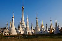 Myanmar (ex Birmanie), Province de Shan, le lac Inle, village de Ywama // Myanmar (Burma), Shan province, Inle lake, Ywama village