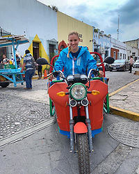"Angelique Kerber releases a photo on Instagram with the following caption: ""That\u2018s how you get around town here \ud83d\ude02\ud83d\udef5 So nice to be back! I\u2018ve missed this place \ud83d\ude0d\ud83c\uddf2\ud83c\uddfd @abiertognpseguros"". Photo Credit: Instagram *** No USA Distribution *** For Editorial Use Only *** Not to be Published in Books or Photo Books ***  Please note: Fees charged by the agency are for the agency's services only, and do not, nor are they intended to, convey to the user any ownership of Copyright or License in the material. The agency does not claim any ownership including but not limited to Copyright or License in the attached material. By publishing this material you expressly agree to indemnify and to hold the agency and its directors, shareholders and employees harmless from any loss, claims, damages, demands, expenses (including legal fees), or any causes of action or allegation against the agency arising out of or connected in any way with publication of the material."