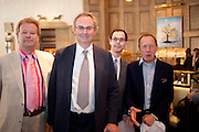 CHRISTOPHER SYLVESTER; WILLIAM CASH; JOSH SPERO; ANTONY HADEN-GUEST. SpearÕs Book Awards, The Langham, Portland Place. London. 30 June 2009.  The inaugural SpearÕs Book Awards, celebrating the very best writing talent and the books of the year Ð from finance to fiction.<br /> CHRISTOPHER SYLVESTER; WILLIAM CASH; JOSH SPERO; ANTONY HADEN-GUEST. Spear?s Book Awards, The Langham, Portland Place. London. 30 June 2009.  The inaugural Spear?s Book Awards, celebrating the very best writing talent and the books of the year ? from finance to fiction.