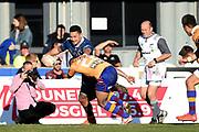 Sio Tomkinson of Otago in action during the Ranfurly Shield match between Otago and North Otago, held at Whitestone Contracting Stadium, Oamaru, New Zealand, 26 July 2019. Credit: Joe Allison / www.Photosport.nz