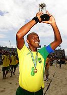 Football-FIFA Beach Soccer World Cup 2006 - Final, Uruguay - Brazill, Beachsoccer World Cup 2006. Rio de Janeiro - Brazil 11/11/2006. Mandatory credit: FIFA/ Manuel Queimadelos