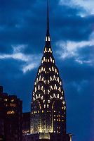 The iconic art deco Chrysler Building, New York New York USA.