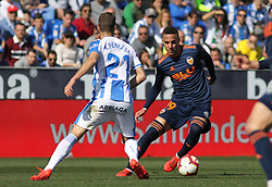 February 24, 2019 - Leganes, Madrid, Spain - Rodrigo of Valencia in action during La Liga Spanish championship, football match between Leganes and Valencia, February 24th, Butarque stadium, in Leganes, Madrid, Spain. (Credit Image: © AFP7 via ZUMA Wire)