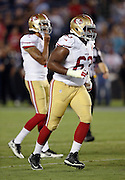 San Francisco 49ers defensive end Tony Jerod-Eddie (63) jogs to the line during the 2016 NFL preseason football game against the San Diego Chargers on Thursday, Sept. 1, 2016 in San Diego. The 49ers won the game 31-21. (©Paul Anthony Spinelli)