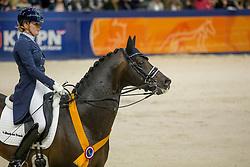Scholtens Emmelie, NED, Apache<br /> KWPN Stallion Show 2019<br /> © Hippo Foto - Sharon Vandeput<br /> 1/02/19