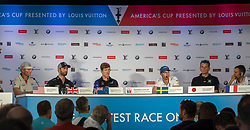 Press conference for the start of the 35th Artemis Racing. 25th of May, 2017, Bermuda
