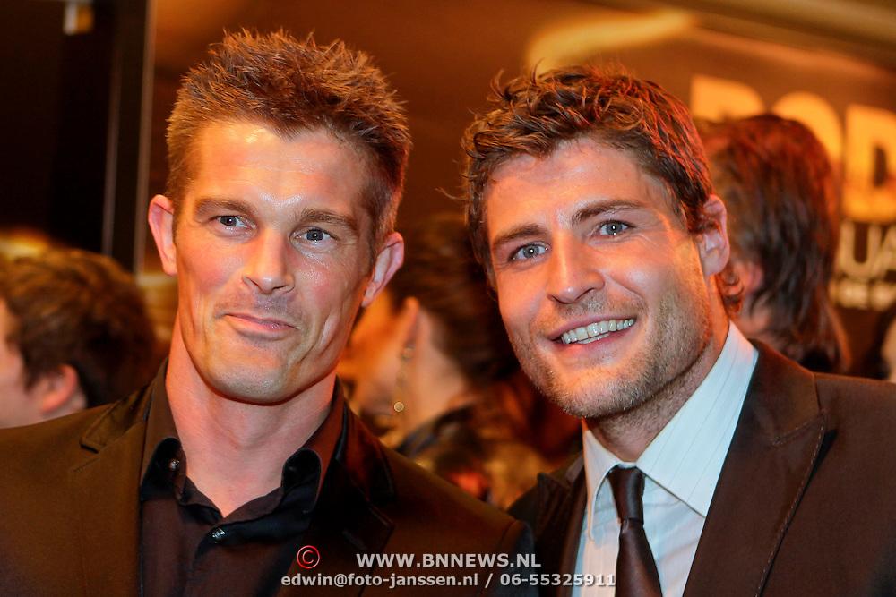 NLD/Amsterdam/20111004 - Premiere Body Language, Koert-Jan de Bruin en .........
