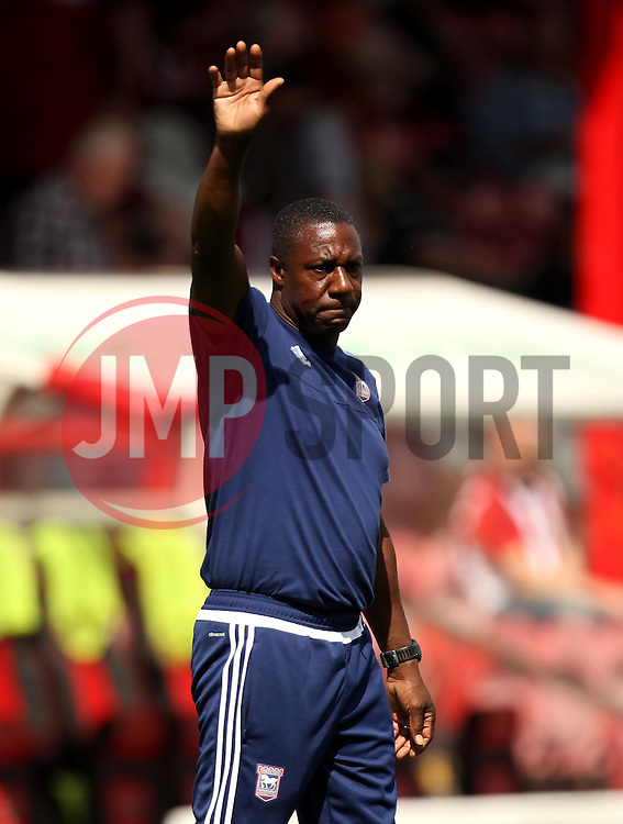 Ipswich Town Assistant Manager Terry Connor - Mandatory by-line: Robbie Stephenson/JMP - 07966386802 - 08/08/2015 - SPORT - FOOTBALL - Brentford,England - Griffin Park - Brentford v Ipswich Town - Sky-Bet Championship