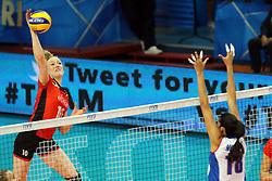 Belgium Lise Van Hecke spikes