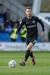 March 23, 2019 - Meadow, Shropshire, United Kingdom - Tom Naylor of Portsmouth FC during the Sky Bet League 1 match between Shrewsbury Town and Portsmouth at Greenhous Meadow, Shrewsbury on Saturday 23rd March 2019. (Credit Image: © Mi News/NurPhoto via ZUMA Press)