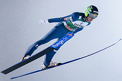 February 8, 2019 - Lahti, Finland - Jernej Damjan competes during FIS Ski Jumping World Cup Large Hill Individual Qualification at Lahti Ski Games in Lahti, Finland on 8 February 2019. (Credit Image: © Antti Yrjonen/NurPhoto via ZUMA Press)