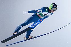February 8, 2019 - Lahti, Finland - Jernej Damjan competes during FIS Ski Jumping World Cup Large Hill Individual Qualification at Lahti Ski Games in Lahti, Finland on 8 February 2019. (Credit Image: © Antti Yrjonen/NurPhoto via ZUMA Press)