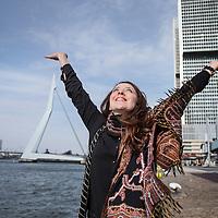 Nederland, Rotterdam, 31 maart 2016.<br /> Leyla Cakir, sociaal werker en voorzitster van Al Nisa.<br /> Al Nisa ('de vrouwen') is een vrijwilligersorganisatie voor moslimvrouwen en kinderen en voor vrouwen met interesse voor de islam.<br /> <br /> Foto: Jean-Pierre Jans
