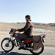 Road Kashan-Abyaneh, Iran, West Asia