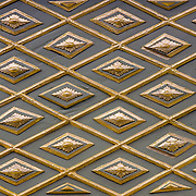 Topkapi Palace pattern decoration (Istanbul, Turkey - Jul. 2008) (Image ID: 080720-1507441a)