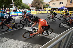 Heidi Franz (USA) during Stage 4 of 2020 Santos Women's Tour Down Under, a 42.5 km road race in Adelaide, Australia on January 19, 2020. Photo by Sean Robinson/velofocus.com
