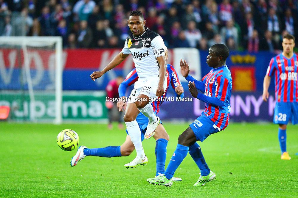Christophe MANDANNE - 25.04.2015 - Caen / Guingamp - 34eme journee de Ligue 1<br /> Photo : David Winter / Icon Sport