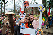 Ohio University hosts the 2019 International Street Fair on April 6, 2019. Photo by Hannah Ruhoff