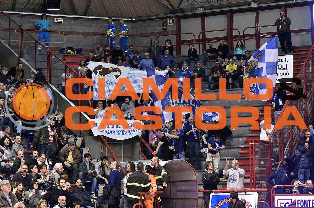 Pistoia 13/03/2016 BASKET SERIE A<br /> Giorgio Tesi Group Pistoia - Vanoli Cremona<br /> <br /> Nella foto: tifosi Cremona<br /> <br /> FOTO CIAMILLO