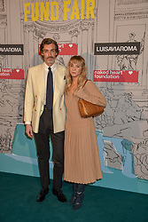 Richard Biedul and Melissa Tarling at the Fabulous Fund Fair in aid of Natalia Vodianova's Naked Heart Foundation in association with Luisaviaroma held at The Round House, Camden, London England. 18 February 2019.