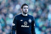 Craig Gordon (#1) of Celtic during the Ladbrokes Scottish Premiership match between Hibernian and Celtic at Easter Road, Edinburgh, Scotland on 10 December 2017. Photo by Craig Doyle.
