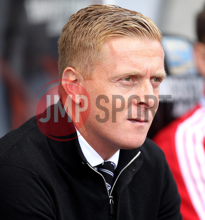 Swansea City Manager, Garry Monk - Mandatory byline: Robbie Stephenson/JMP - 07966386802 - 15/08/2015 - FOOTBALL - Liberty Stadium -Swansea,England - Swansea City v Newcastle United - Barclays Premier League
