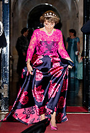 AMSTERDAM - Princess Margriet Dinner for the diplomatic corps at the Royal Palace, Amsterdam, The Netherlands - 09 Apr 2019<br /> copyrught robin utrecht