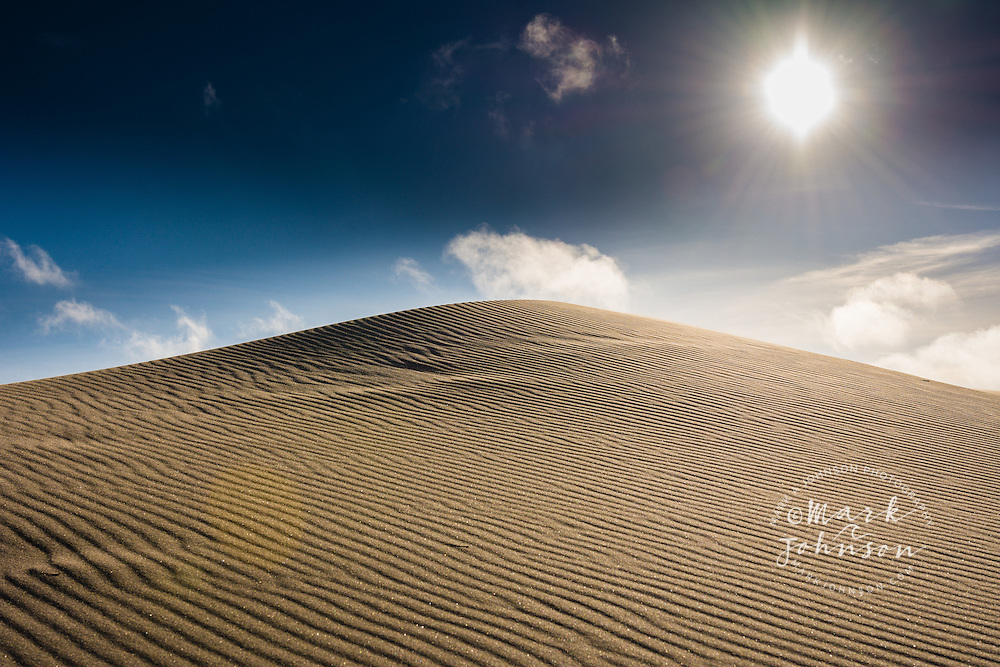 Sand Dunes, Oregon Dunes National Recreation Area, Lakeside, Oregon