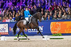 Van Liere Dinja, NED, Joop TC<br /> KWPN hengstenkeuring - 's Hertogenbosch 2020<br /> © Hippo Foto - Dirk Caremans<br /> 01/02/2020