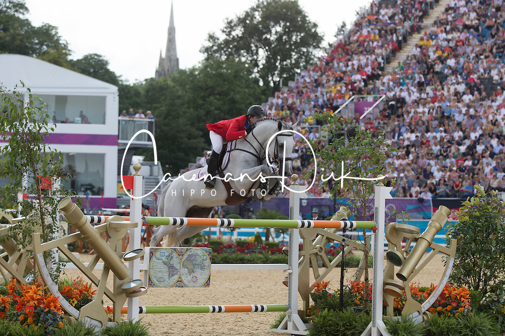 Ward Mclain (USA) - Antares F<br /> Olympic Games London 2012<br /> © Dirk Caremans
