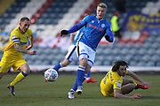 Steven Humphreys during the EFL Sky Bet League 1 match between Rochdale and AFC Wimbledon at Spotland, Rochdale, England on 17 March 2018. Picture by Daniel Youngs.
