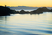 Rosario Beach Sunset 2  San Juan Islands